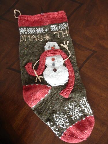Thomas's stocking