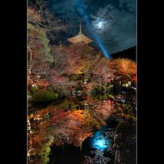 (whc7294) Tags: reflection temple kyoto     kiyomizudera unescoworldheritage hdr   photomatix  10faves topseven diamondclassphotographer flickrdiamond superhe