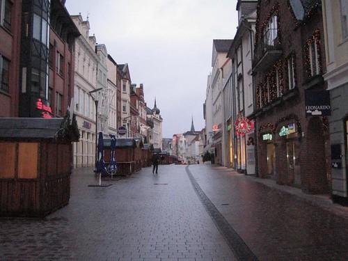 Flensborg: Pedestrian Street