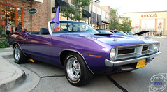 1970 Plymouth Barracuda (Chad Horwedel) Tags: classic car illinois purple plymouth convertible promenade barracuda bolingbrook plymouthbarracuda 1970plymouthbarracuda bolingbrookmall