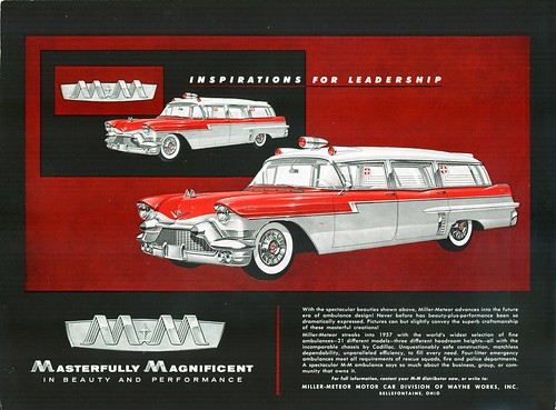 1957 Cadillac Ambulances by 