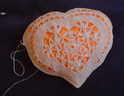 Heart-pillow, process