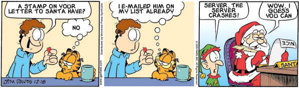 Garfield: Lost in Translation, December 18, 2009