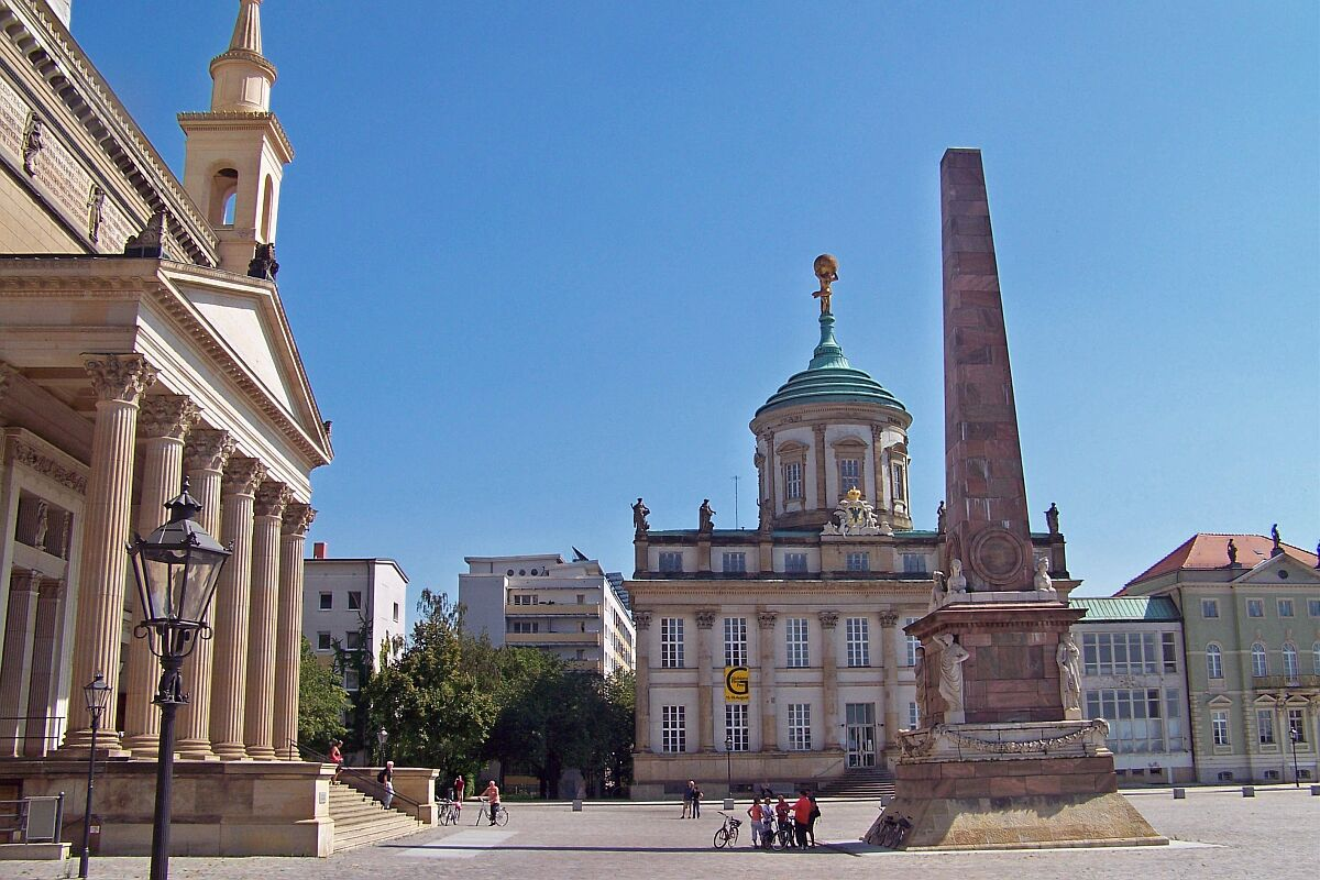 Potsdam Old Market Square