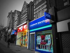 phone shops (Mr Tigggs) Tags: street london mobile shop high phone many surrey too sutton sm1