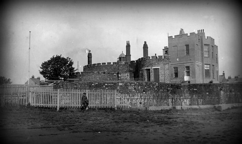 Deal Castle with Governor's Lodgings (1920s?)