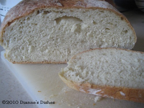 Easy Sour Dough Bread: The Inside