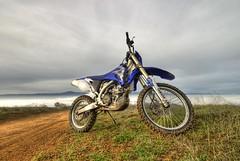 09 Yamaha wr450f (buffalo_jbs01) Tags: cloudy trail metcalf yamaha dirtbike d200 wr450f wr450
