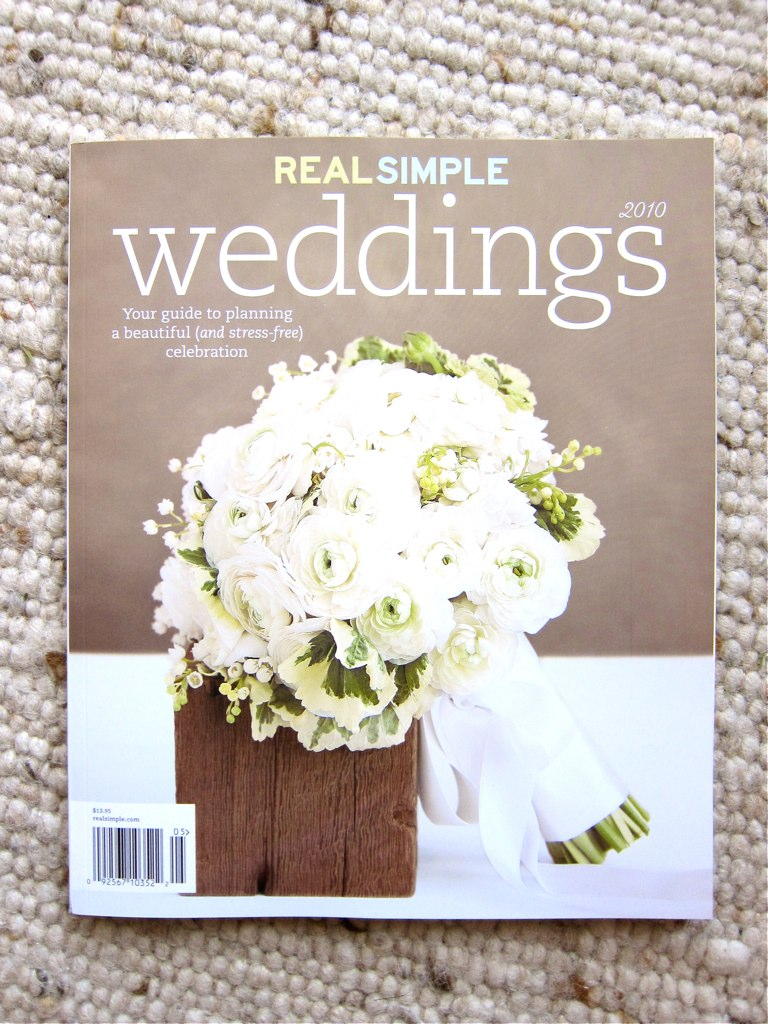 The Indigo Bunting: Featured in Real Simple Weddings