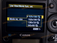 1D MarkIV NTSC Video Mode Settings