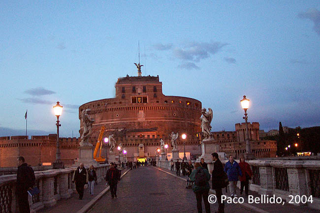 Castel Sant'Angelo. © Paco Bellido, 2004