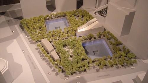 9/11 Memorial Model