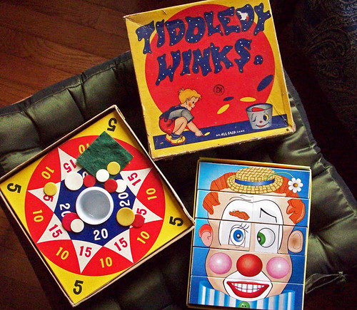 Make-A Face and Tiddley Winks