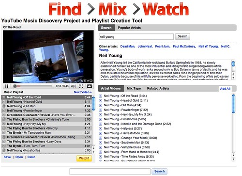 The YouTube Music Discovery Project - Search Engine Land