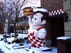Big Boy with snow. (blue_eagle_48180) Tags: boy big