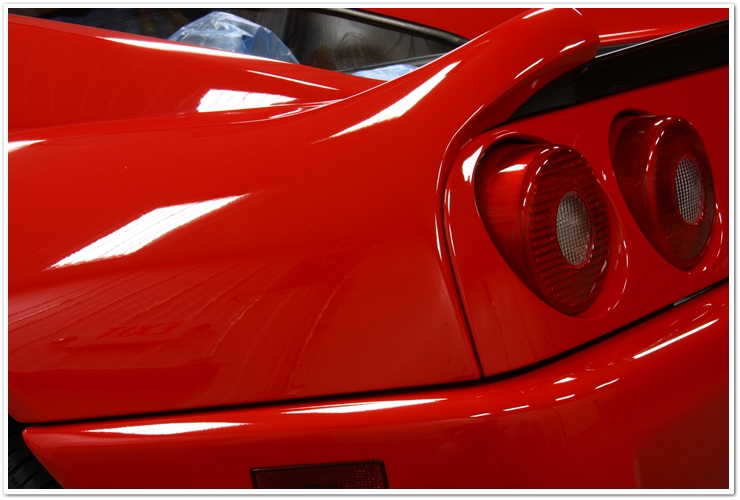 Ferrari 355 GTS gloss and clarity