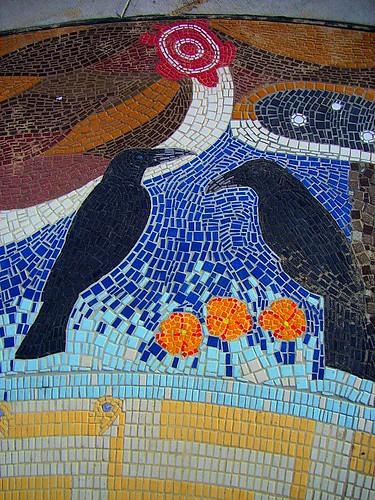 Chumash Circle Mosaic Cabrillo Boulevard