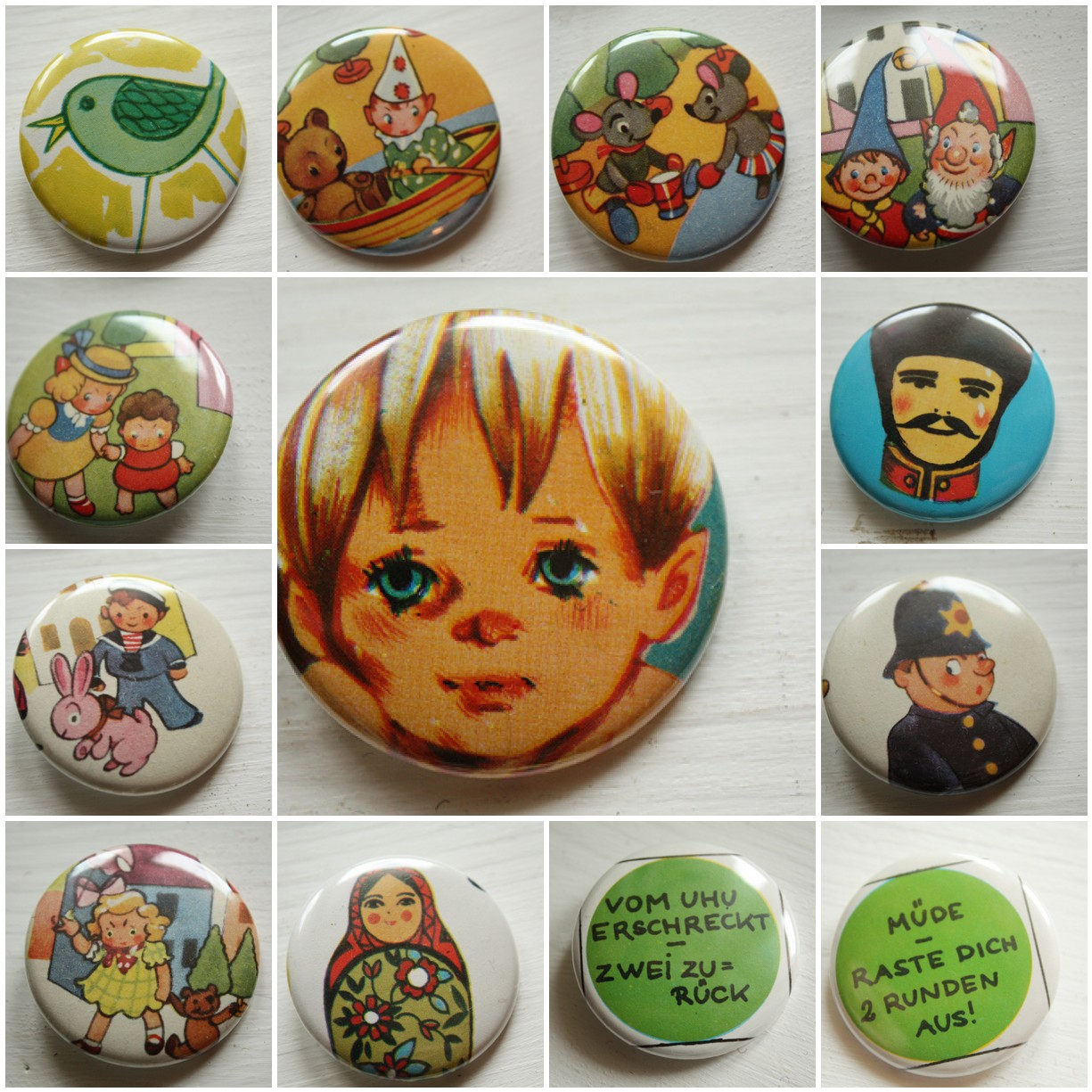 New Vintage Buttons