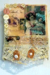 Childhood (alteredmoments) Tags: flowers moon bird art floral thread birds atc collage digital vintage butterfly scrapbook scrapbooking paper children stars photo beads wire scans key ebay heart stitch stamps mixedmedia buttons postcard tag feather rusty tags scan ephemera canvas fairy photograph aceo postcards button stitches crown wax ribbon etsy coaster stitched alteredart beeswax machinesewn