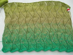 016 Upstairs Shawl in LANDSCAPE