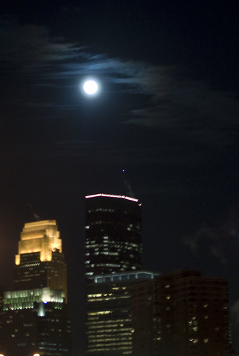 downtown moon