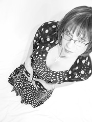 my favourate dress 11 (Kirsty_Evans) Tags: dress cd tgirl polkadots tranny transvestite crossdresser kneehighboots yummymummy transfemme kirstyevans