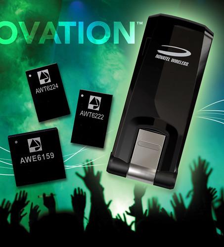 Novatel Wireless Selects ANADIGICS Power Amplifiers for HSPA+ Mobile Broadband USB Modems