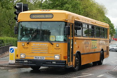 Staffordshire CC Bluebird School Bus R514SCH - Stafford (dwb photos) Tags: school bus bluebird staffordshire stafford r514sch