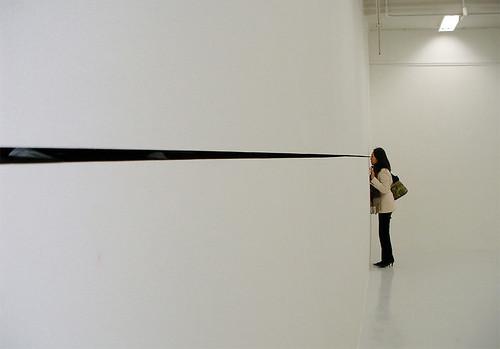 Installation by Minoru Morikawa at the Kyoto Art Center