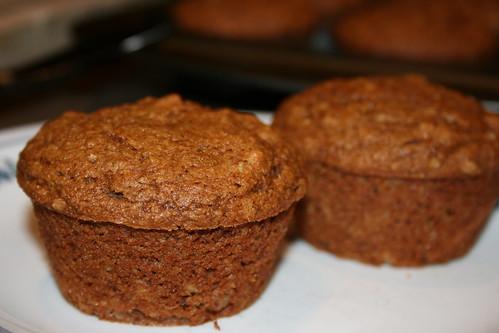 banana-nut (okara) muffins
