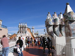 roof of Casa Batll (d-tale) Tags: casabatll barcelonahoneymoon