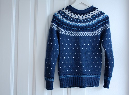 Jumper knitted by my mum 20 years ago