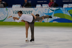 2010 Olympic Figure Skating (***roham***) Tags: canada ice sport vancouver geotagged nikon couple jessica action iceskating pair skating champi