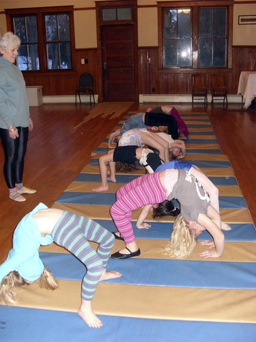 backbends at the Heritage House