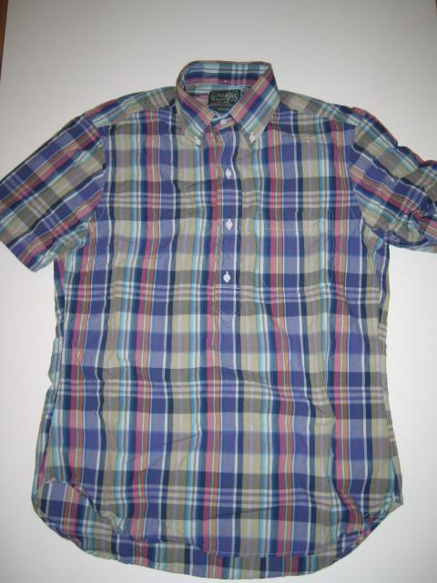 Gitman Vintage x Seavees Bleeding Madras Pop-Over Shirt