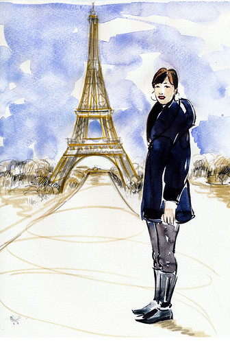 Anne in Paris, version 2