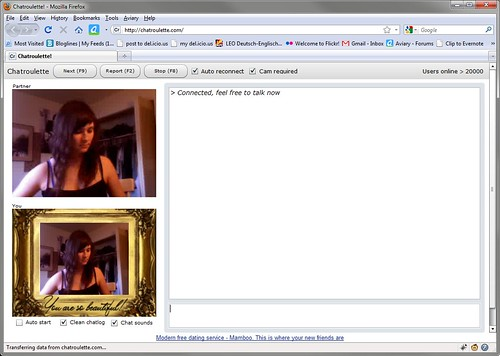 image ChatRoulette Art: You are so beautiful!