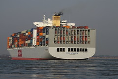 OOCL ATLANTA (John Ambler) Tags: atlanta water sign docks call ship vessel container southampton imo oocl mmsi 477920300 9285005 vrar6