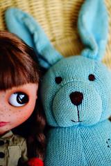 Blue Bunny Buddy - 244/365 ADAD