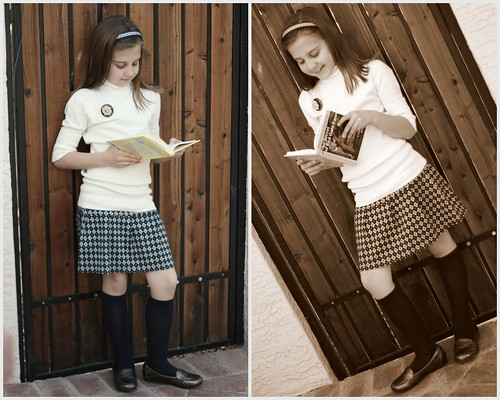 Nancy was all about the knee socks - and loafers. As long as we had those covered I though we were in good shape. Add a little plaid skirt and weu0027re home ...  sc 1 st  Bunches and Bits & Bunches and Bits: Nancy Drew....What to Wear?