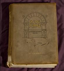 Royal Purple (Eric Zoeller) Tags: canon tamron 70200 1916 reallyold kansasstate royalpurple volume8