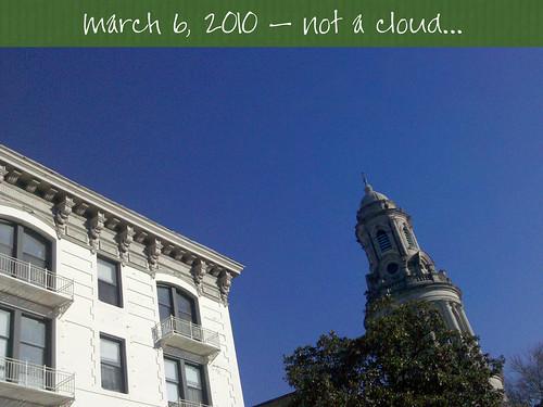 not a cloud...