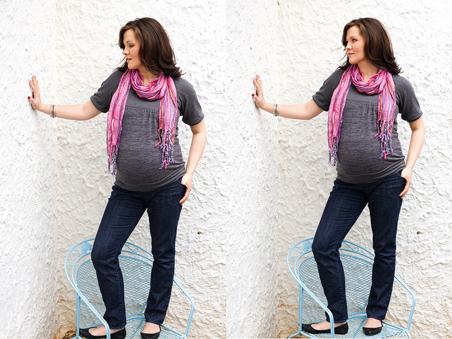 Kristie~ Maternity (8 months pregnant)
