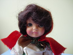 serious little face (maximum RABBIT designs) Tags: vintagedoll rosebuddoll irishdoll rosebuddolls