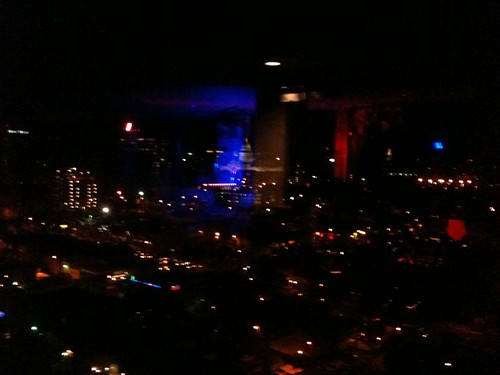 Austin at Night from the 18th floor