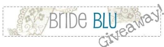 bride blue border