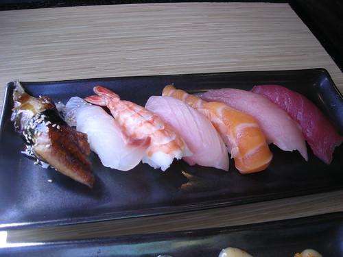 Sushi in Davis
