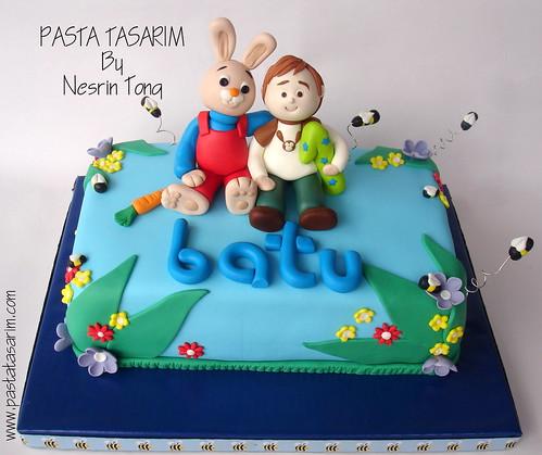 1ST BIRTHDAY CAKE - BATU'S