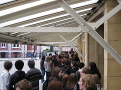 Queuing for Opeth (jonanamary) Tags: london royalalberthall gig opeth