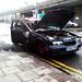 Burnt Car In Me Hood